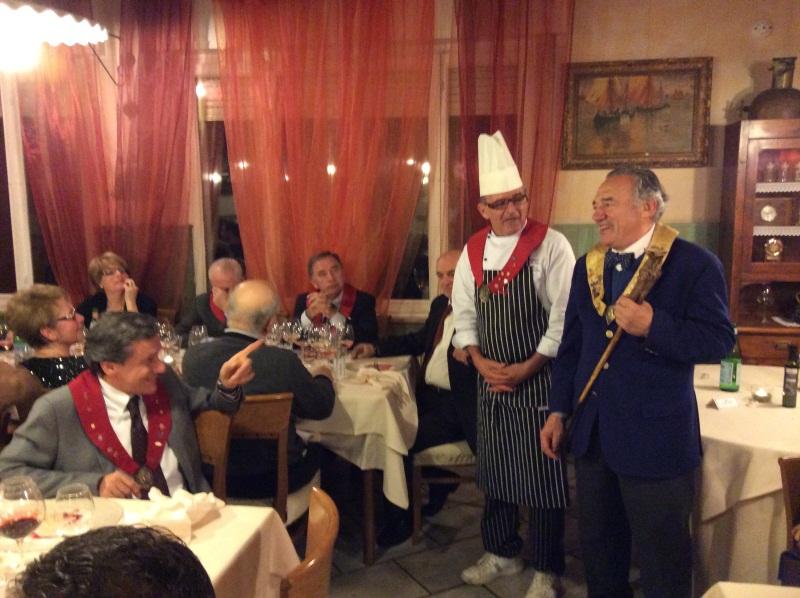 Il Duca Piero I , Lo chef Giorgio Dal Forno e il giornalista Carlo Morandini